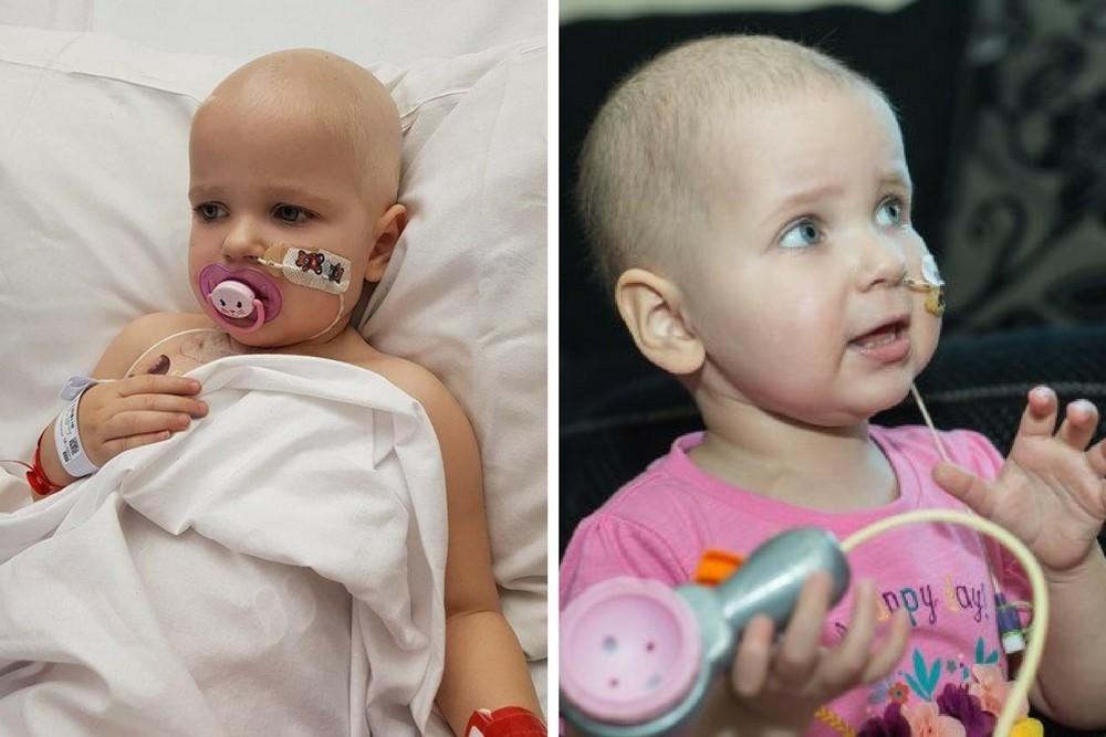 białaczka, Laura Handley, Tamzin Handley, nowotwór u dzieci