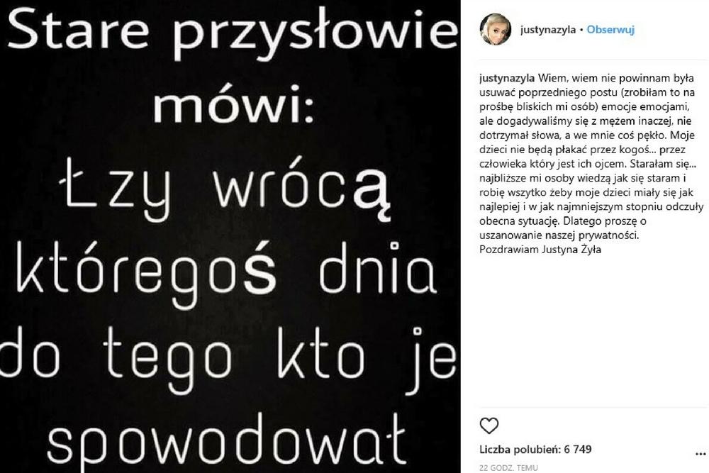 Piotr Żyła, Justyna Żyła, Żyła i kochanka