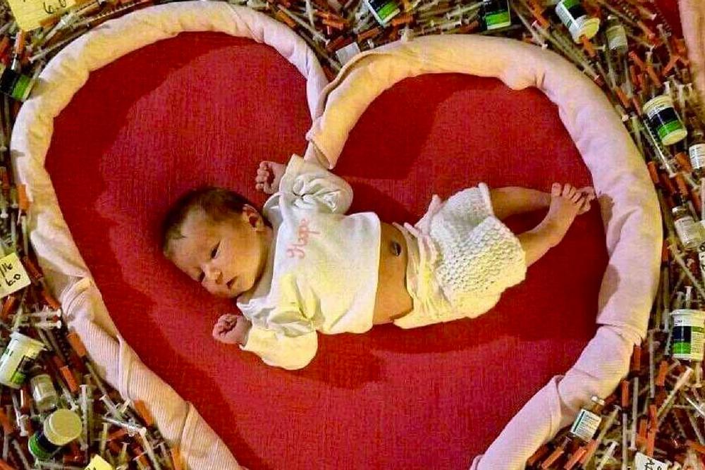 Addie Williams Fowler, cukrzyca w ciąży