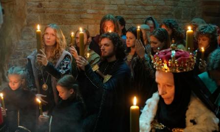 Korona królów, Karolina Piechota, kobieta w ciaży, aktorki w ciąży