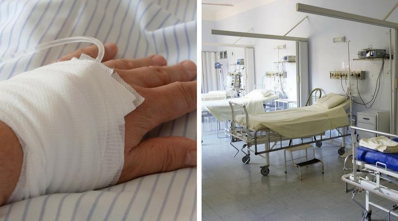 dziecko w szpitalu, choroba nowotworowa, Kaylene Bowen-Wright