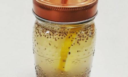 napój z chia, jak schudnąć, chia i cytryna
