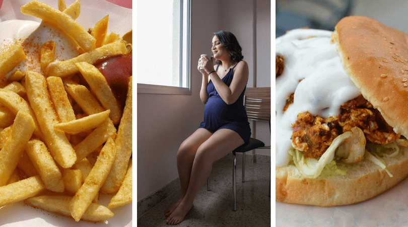 fast food, fast food a ciąża, co wpływa na płodność