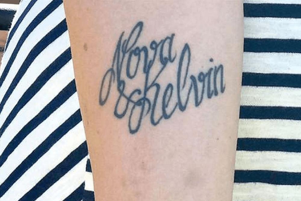 Chciała Mieć Tatuaż Z Imieniem Syna Artysta Się Pomylił Więc Go