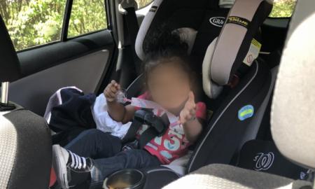dziecko w samochodzie, nagrzane auto, upały a zdrowie dziecka