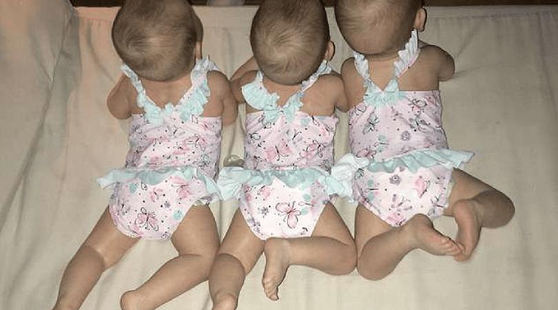 identyczne trojaczki, jednojajowe trojaczki, ciąża mnoga