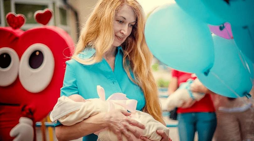 oksana, pięcioraczki, ukraińskie pięcioraczki, ciąża mnoga