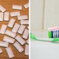dwutlenek tytanu, guma do żucia, pasta do zębów, cukrzyca typu 2