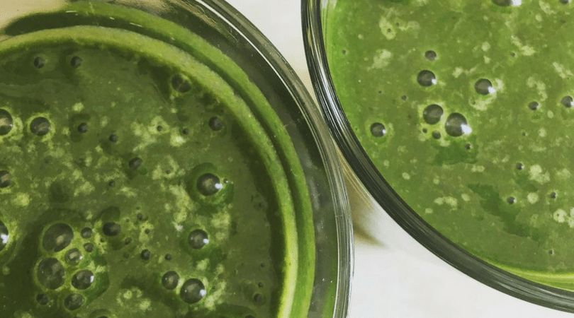płaski brzuch, koktajl odchudzający, zielone smoothie