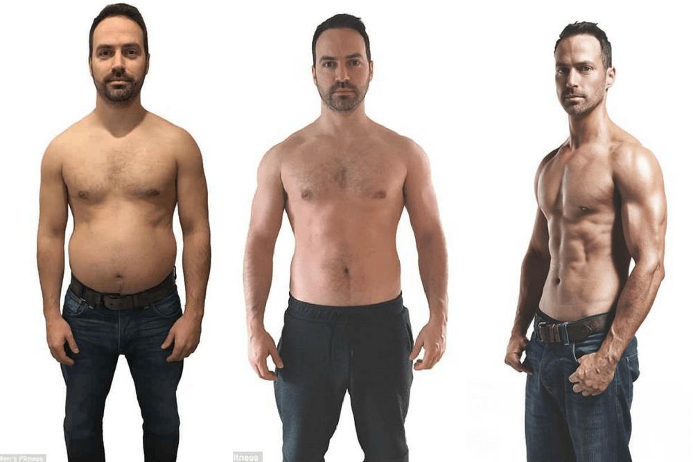 jon lipsey, jak schudnąć, sześciopak na brzuchu, metamorfoza