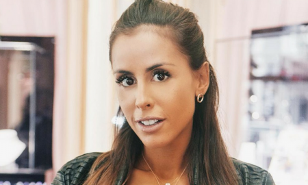 Carolina Patrocinio, brzuch w ciąży, płaski brzuch, brzuch w 9 miesiącu