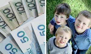 pieniądze na dziecko, 500+, wsparcie finansowe, pieniądze na dzieci