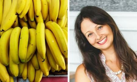 yulia tarbath, dieta bananowa, banany właściwości, detoks bananowy
