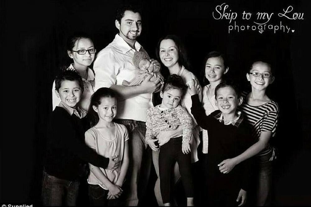 sharon jabbour, 8 dzieci, wielodzietna rodzina, wczesne macierzyństwo