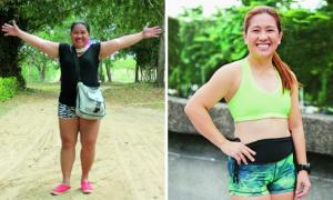 cris lao, schudłą 50 kilo, odchudzanie po ciąży