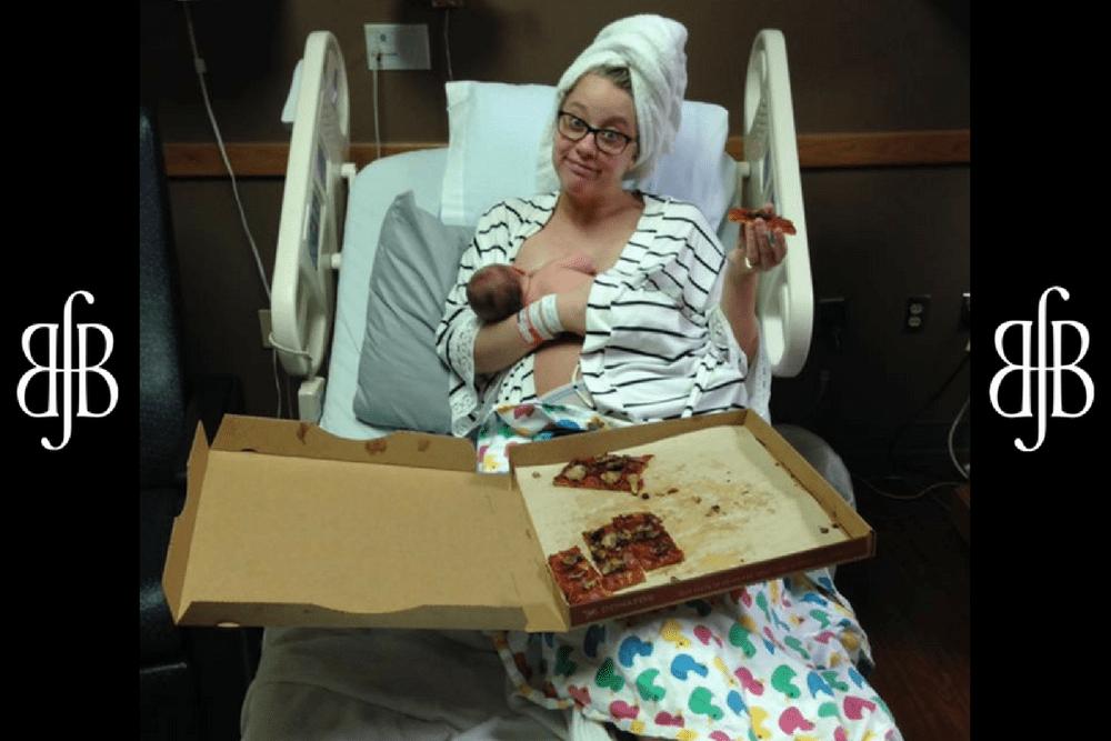 paige stevens, posiłek po porodzie, dieta matki karmiącej