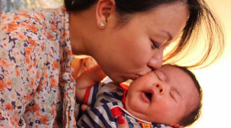 Terry Loong, prysznic po porodzie, kapiel po porodzie, etapy porodu
