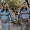 bliźniaczki, ciąża bliźniacza, bliźnięta jednojajowe, cesarskie cięcie