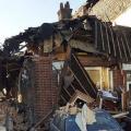 były mąż wysadził mieszkanie, wybuch, eksplozja