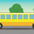 zagadka, żółty autobus, łamigłówki