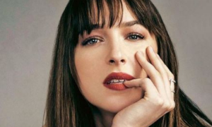 dakota johnson, znana aktorka w ciąży, chris martin