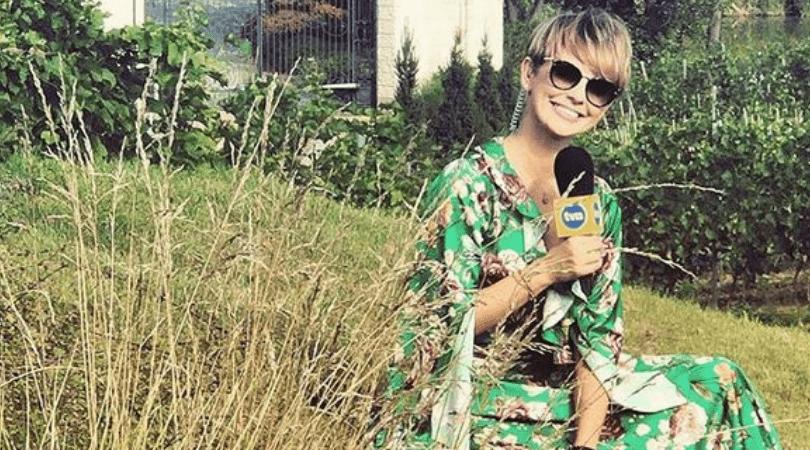Znana celebrytka powiększyła piersi, Dorota Gardias, Pogodynka