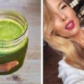 ewa chodakowska, zielone smoothie, zielony koktajl, płaski brzuch