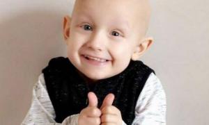 Charlie Proctor, 5-latek zmarł na raka, nowotwór wątroby