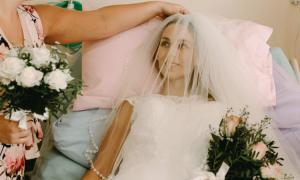 umierająca panna młoda, choroba nowotworowa, Samantha Webster