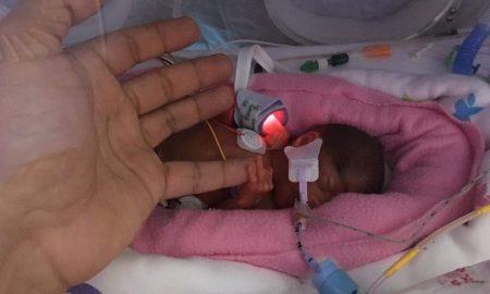 Ayah Malik, urodziła się w 23 tygodniu ciąży