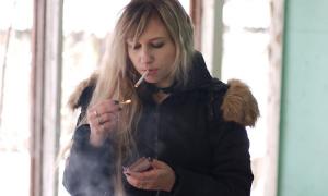 palenie papierosów, palenie tytoniu, kaszel palacza