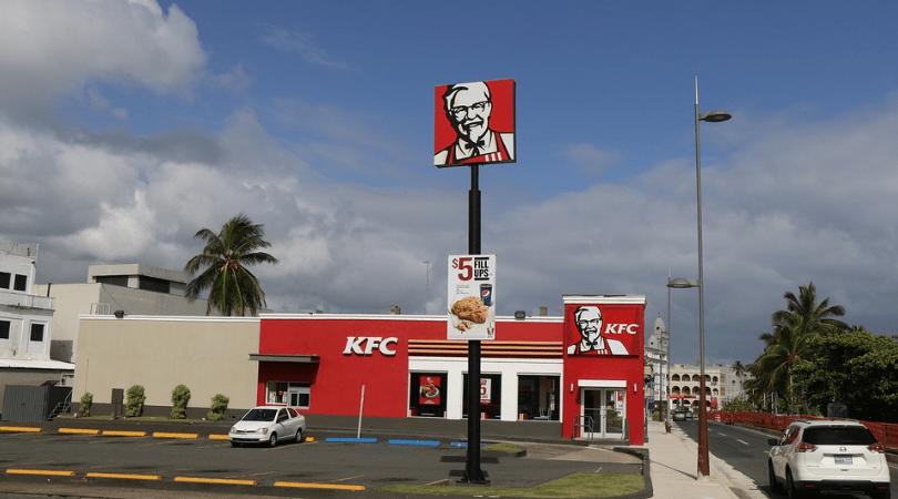 kfc, znalazła w jedzeniu mózg, fast food