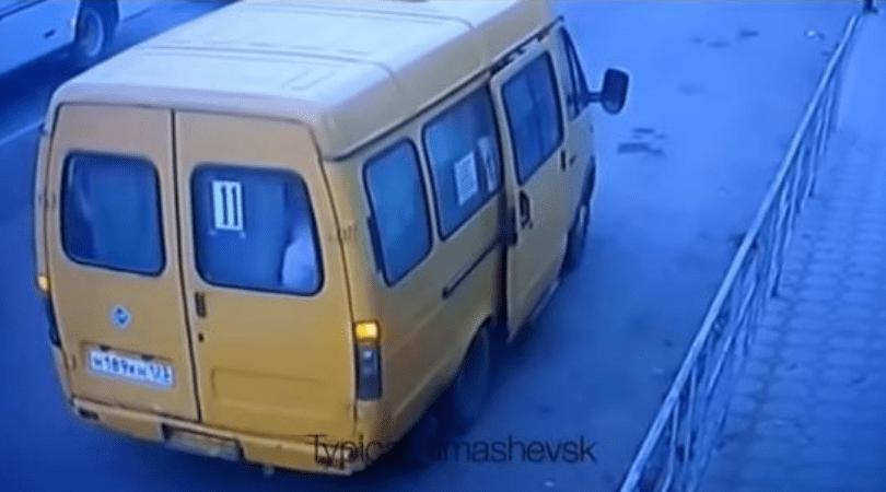 bus, kierowca busa, Rosja