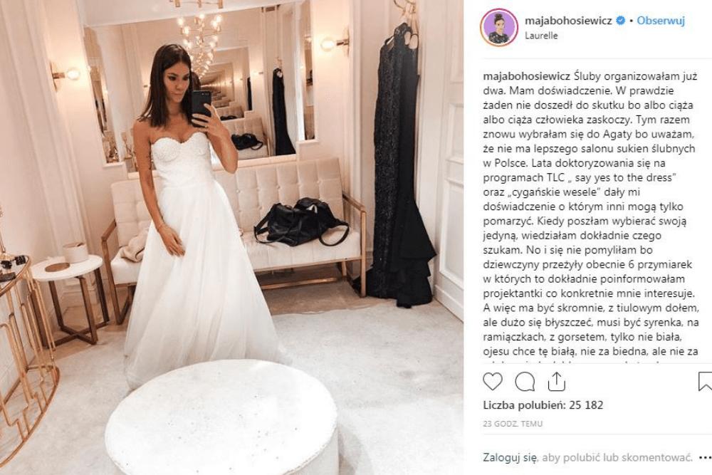 Maja Bohosiewicz, ślub, znana celebrytka bierze ślub