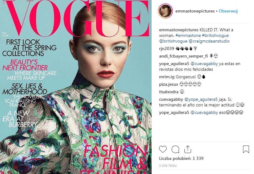 Emma Stone, poważny problem, Kocha lubi szanuje