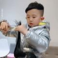 chłopiec, zabawne nagranie, fryzjer