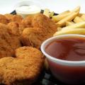 nuggetsy, fast food, jak powstają nuggetsy