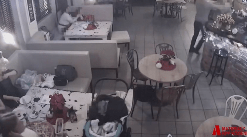 restauracja Kozienice, 41-latek demoluje restaurację, Kozienice