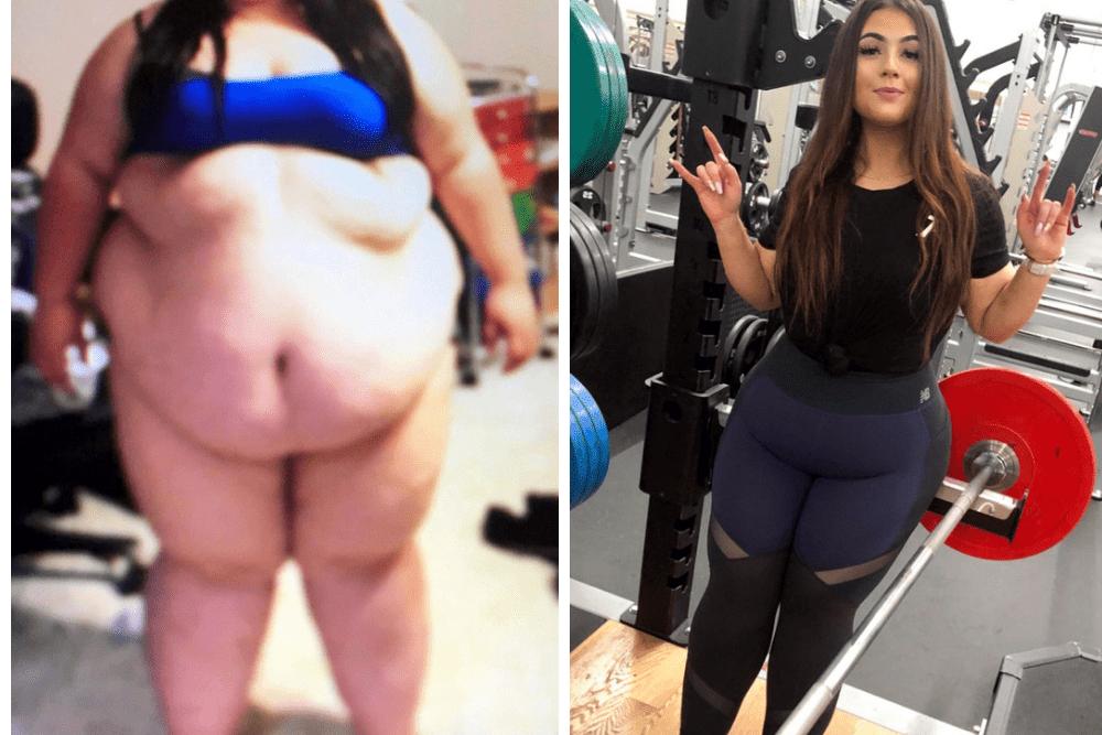 Alysha McNair, metamorfoza, schudła 83 kg