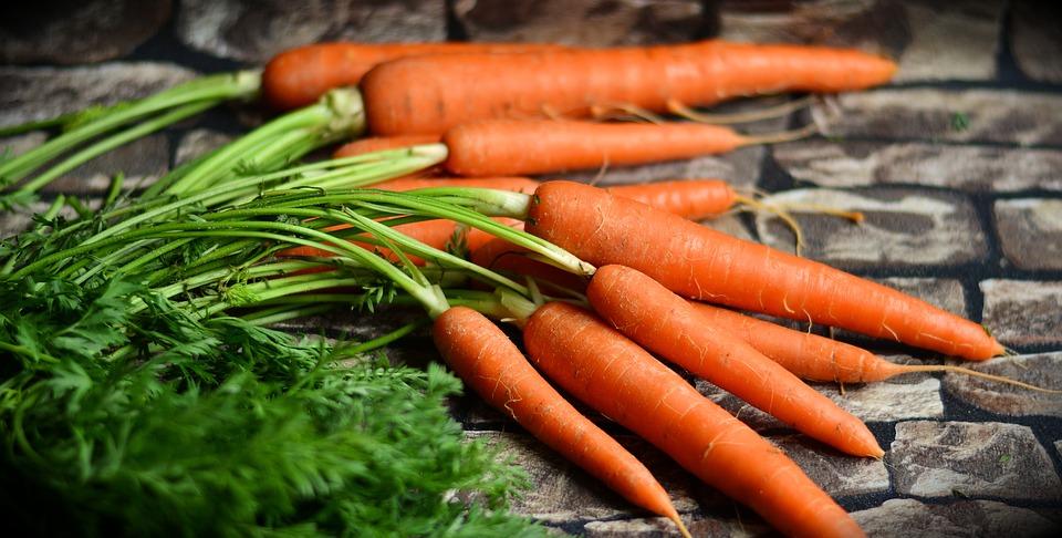 marchew, zdrowie, właściwości marchewki