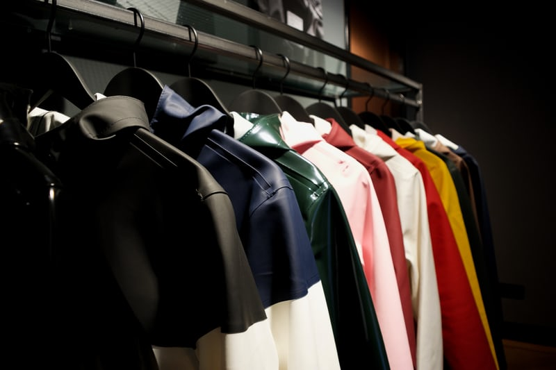 ubraniach