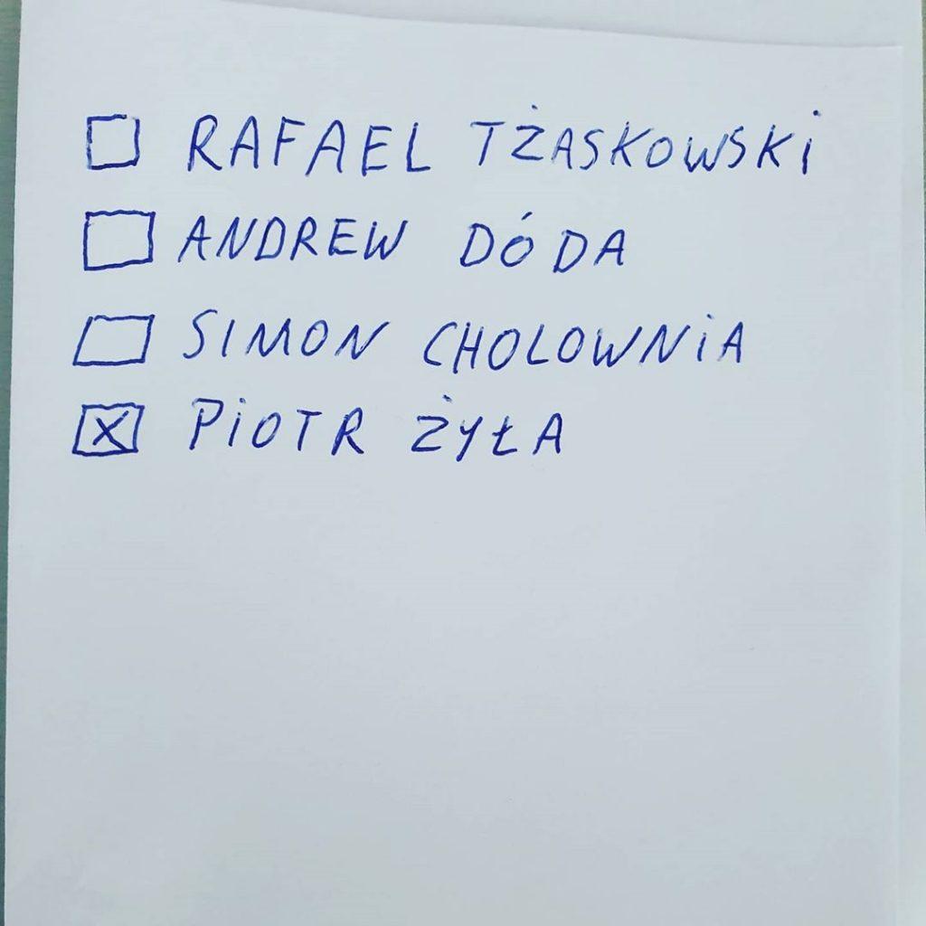 wyborach