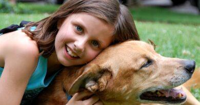 Wpływ psa na rozwój dziecka